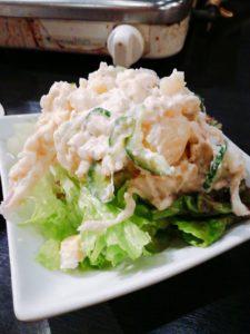 牛タンポテトサラダ
